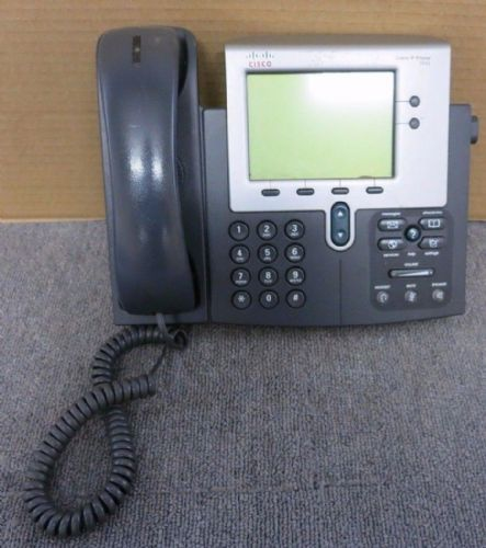 Cisco CP-7942G 7942G Unified IP VoIP Phone Grey Corded Handset No Stand
